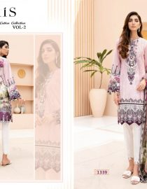 DS Fabrics Pure Jam Cotton Print & Semi Lawn Dress Material With Embroidery Work